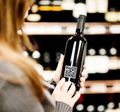 QR Codes on Wine