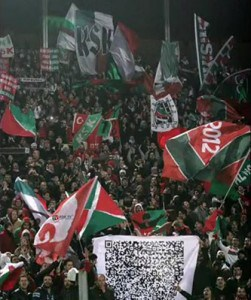 Turkish soccer fans use QR codes to insult opposing teams