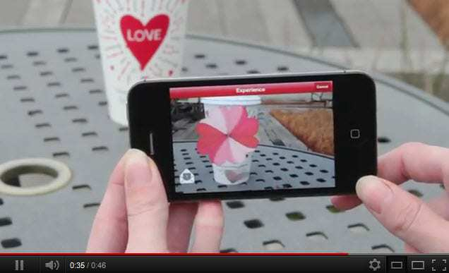 Starbucks to launch new augmented reality campaign for Valentine's Day
