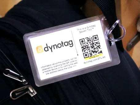 Dynotag qr codes