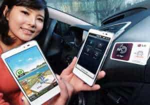 LG upgrades smart phone with NFC capabilities, gives consumers the ability to make their own tags
