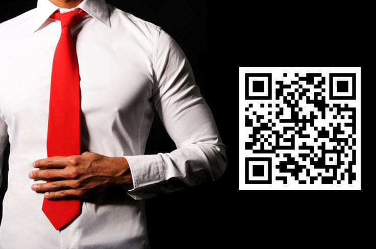 QR Codes shopping for men