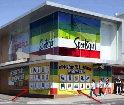 Sportsgirl QR Code Virtual Storefront