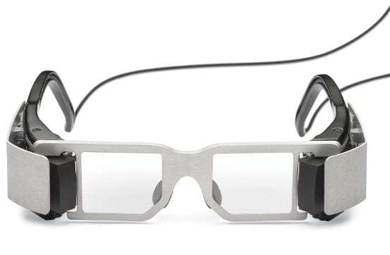 Augmented Reality Glasses Example