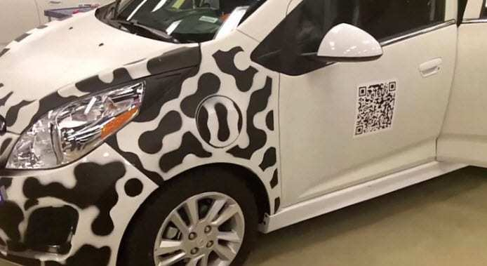 Chevrolet QR Codes for Electric car