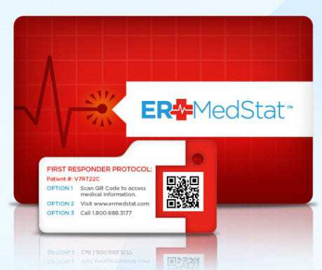 ERMedStat adopts QR codes as a way to better serve people in emergency situations