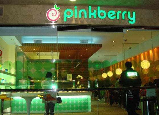 Pinkberry Google Wallet