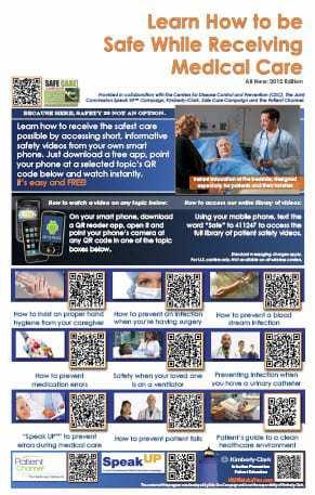 QR Code Patient Safety Education Program