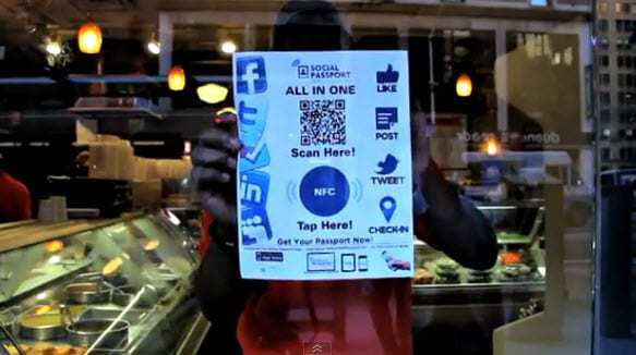 Social Passport seeks to raise the bar on consumer loyalty programs by incorporating QR codes and NFC tags