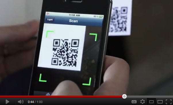 Scan mobile company uses QR codes to create a stir among the crowds