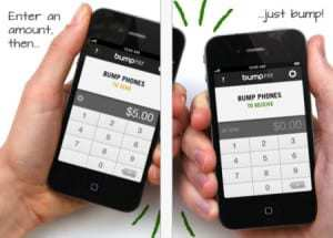 Bump Pay app allows smartphone owners to exchange funds