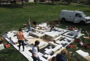 Annual student sculpture event at Washington University has a new mobile twist