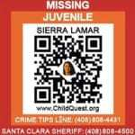 QR codes missing children