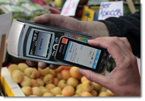 Quick Tap NFC technology service mobile payments service