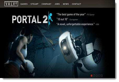 Valve-website-preview