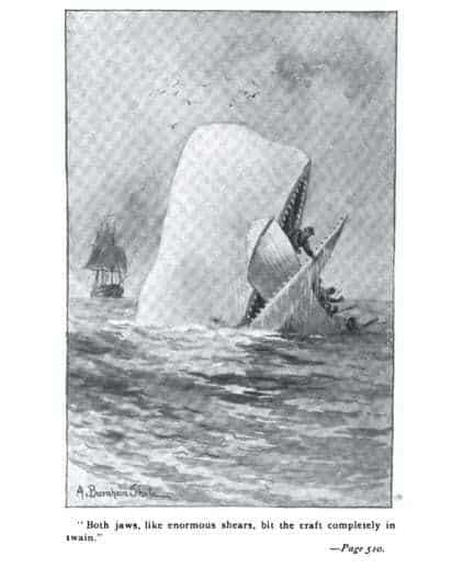Augmented Reality Books - A page from the classic Moby Dick