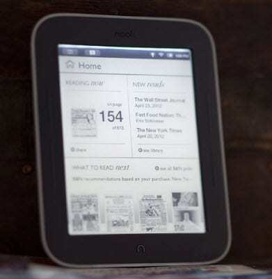 NFC Technology in Nook