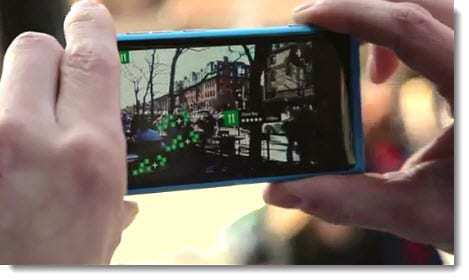 Nokia City Lens Augmented Reality