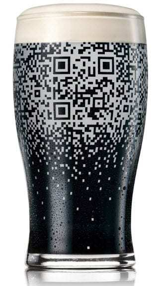 QR Code Guinness Marketing Campaign