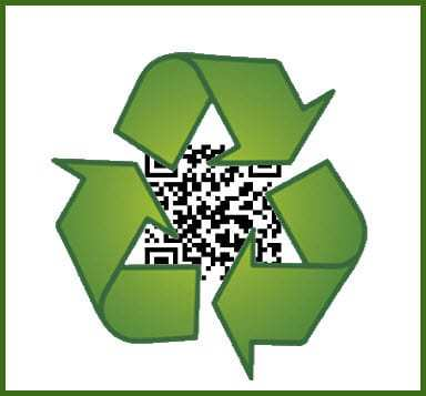 QR Codes help encourage recycling