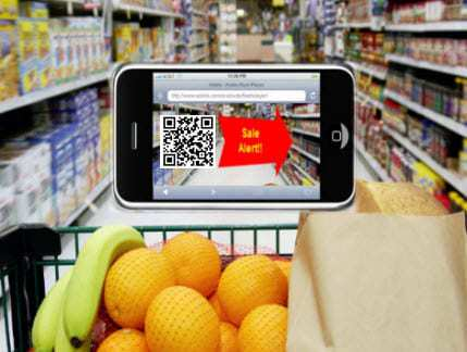 QR codes help some smartphone shoppers to make their decisions and purchases