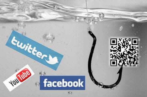 QR code social media