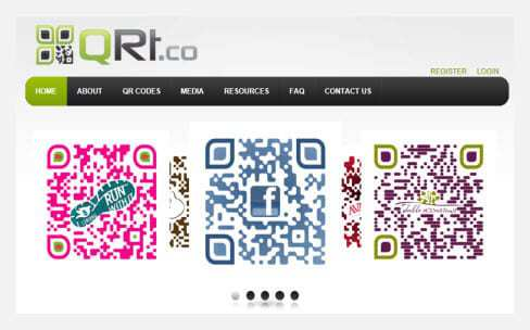 QRt.co Custom QR Codes
