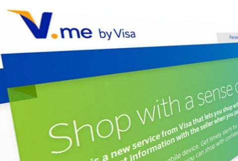 V.me Visa mobile commerce payments