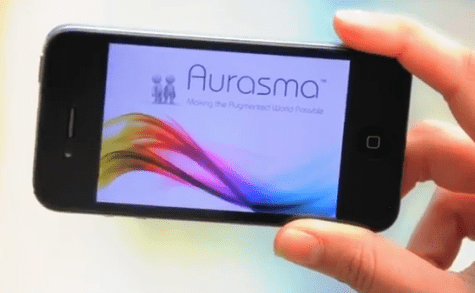 Augmented reality-Aurasma