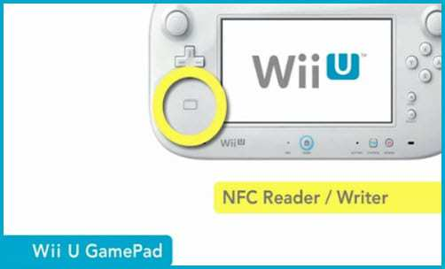 Wii U GamePad nintendo nfc technology