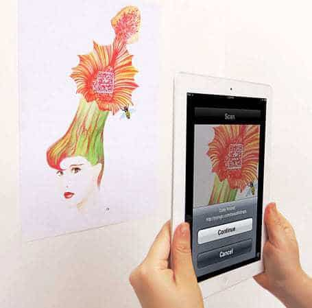 Yiying Lu QR Code Art