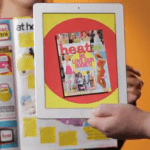Augmented reality-Heat magazine
