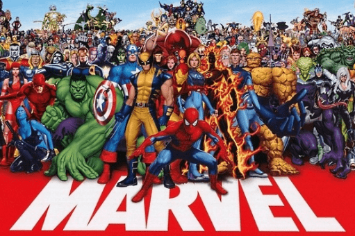Augmented reality- Marvel