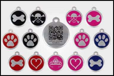 QR Code pet tags