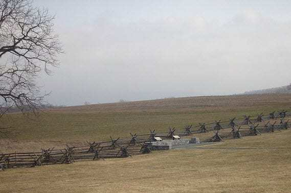 Antietam Battlefield Bloody Lane
