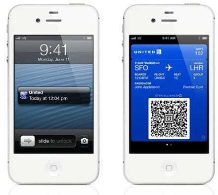 Mobile Commerce Apple Passbook mobile wallet