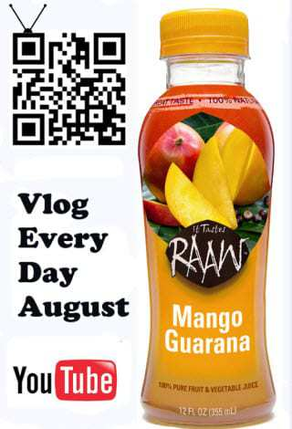 QR Code marketing campaign for Raw Foods International