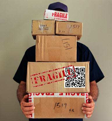 QR Code mail post