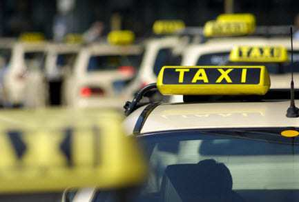 taxi qr codes mobile payments system
