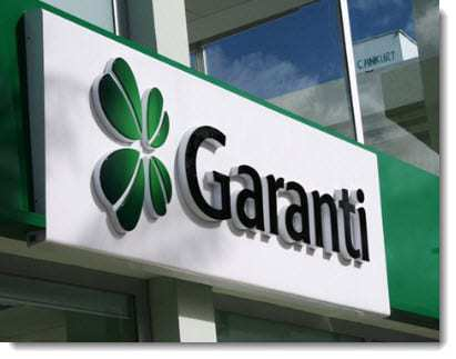 Garanti Bank QR code mobile payments