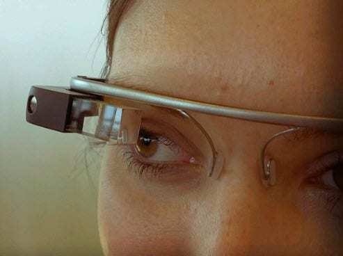 Google glass augmented reality glasses wearable technology