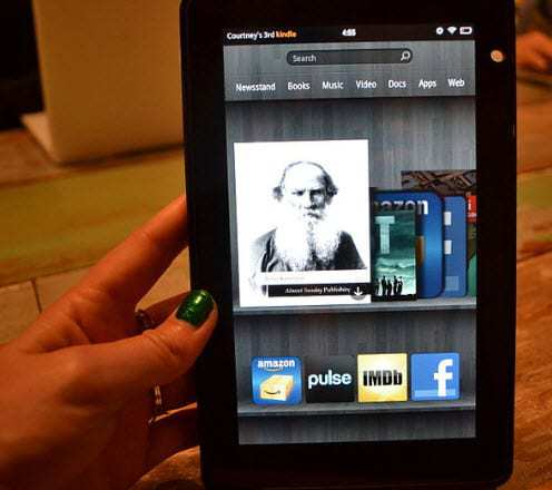 Kindle Fire Mobile commerce
