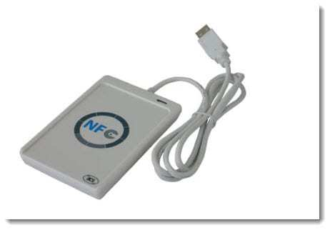 NFC Technology - card reader
