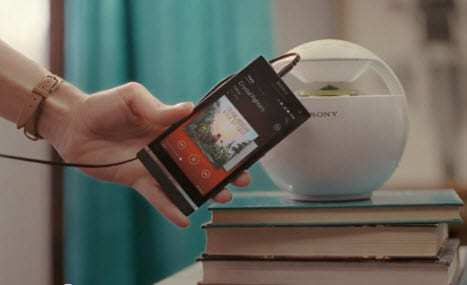Sony mobile music sharing