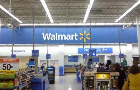 Walmart m-commerce gadgets exchange