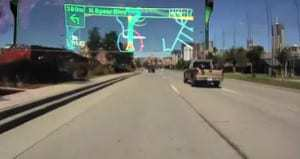 Pioneer shows off augmented reality device for cars