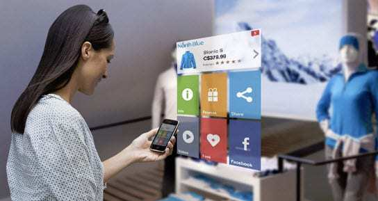 Augmented reality and technology Shopping trends