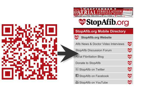 QR code used in mhealth program can help save lives
