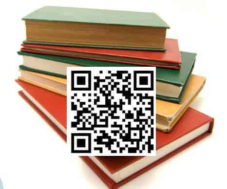 QR Codes Used in books