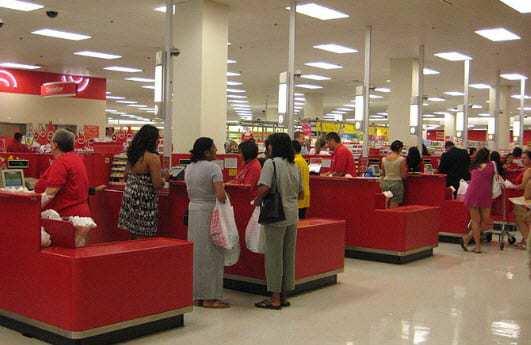 Target mobile commerce
